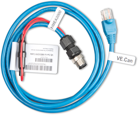 VE.Can to NMEA2000 micro-C male cable