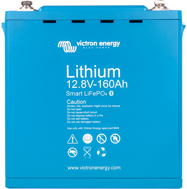 Batterie au lithium  12,8 V & 25,6 V Smart